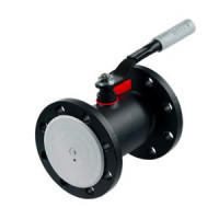 Кран шаровой сталь 11с67п Ду 150 Ру16 фл с редуктором полнопроходной Titan. ЦФ.00.3.016.150